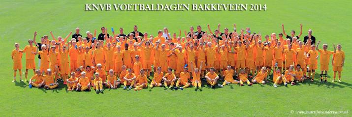 KNVB VOETBALDAGEN BAKKEVEEN 2014
