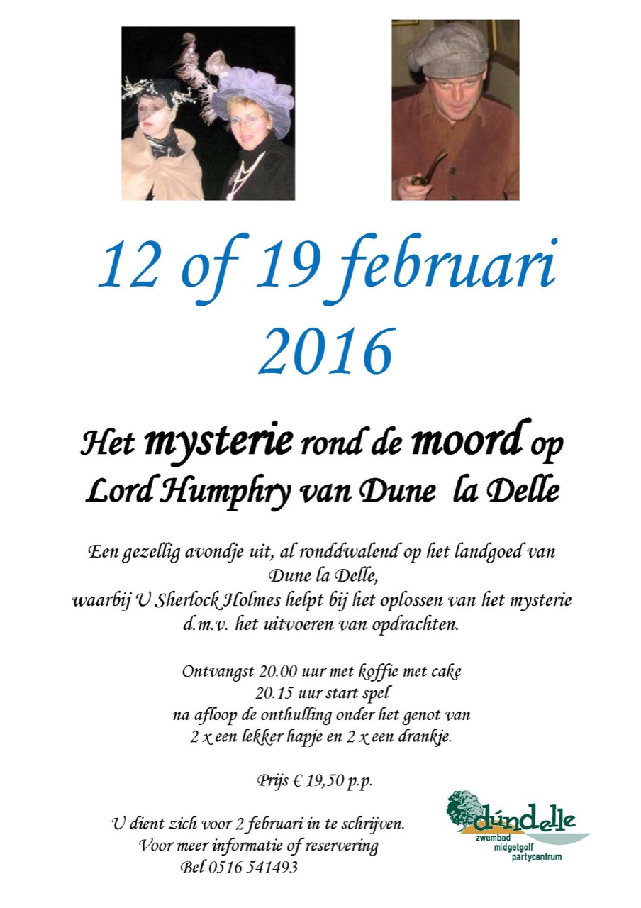Het Mysterie rond Lord Humphry 12 of 19 februari